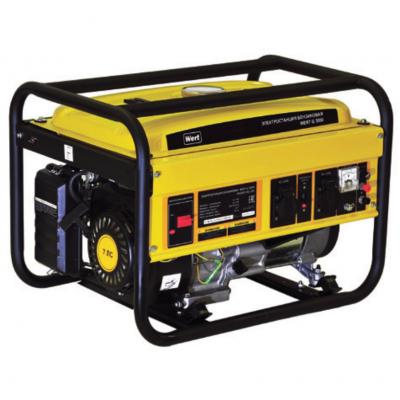 Бензиновая электростанция (Генератор) WERT G 3000 (W1603.001.00)